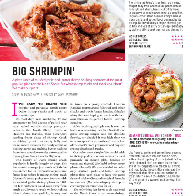 Big Shrimpin' Photo Shoot