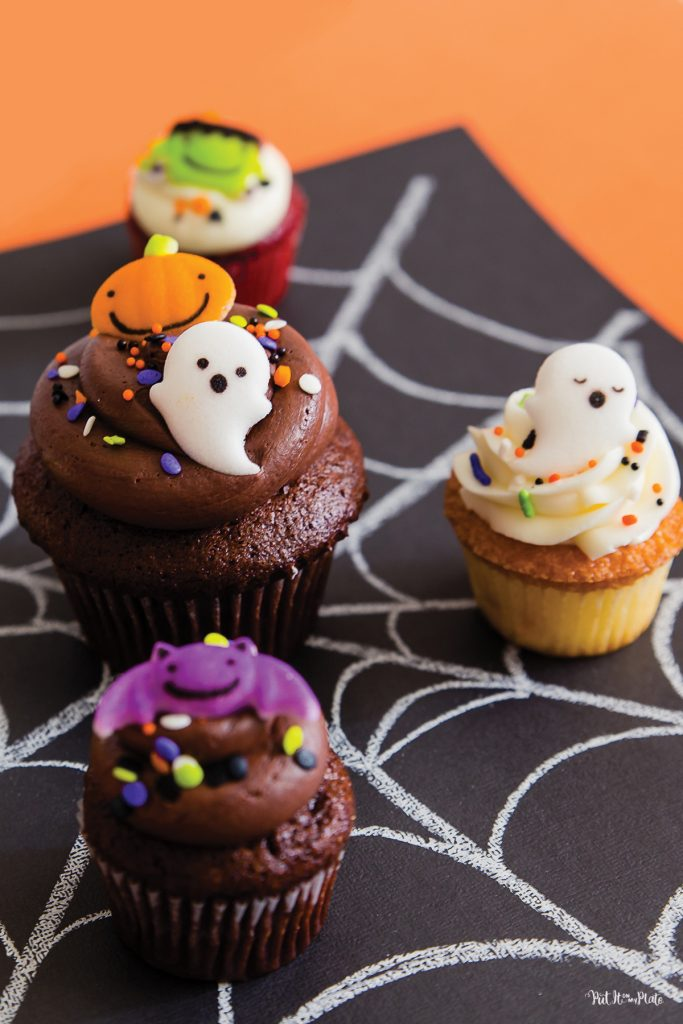 Cake Works Bakery - Halloween Cupcakes