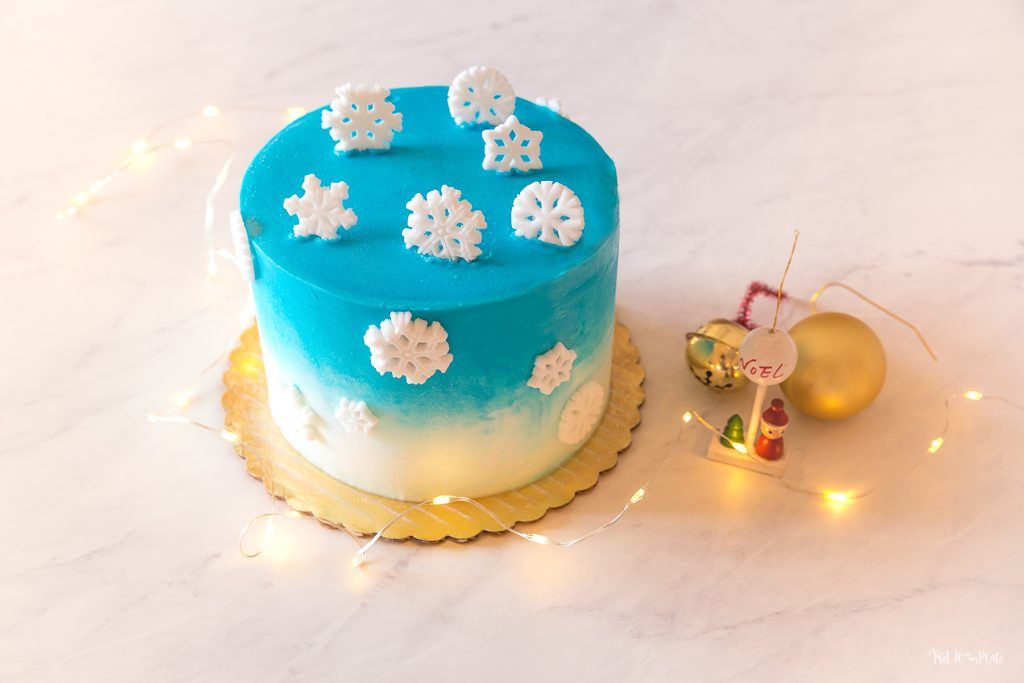 Cake Works Bakery - Winter Wonderland Cake