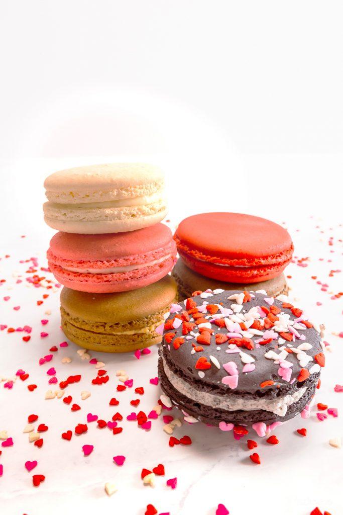 Cake Works Bakery - Valentine Macarons