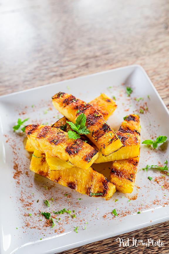 Spicy Grilled Li Hing Mui Pineapple