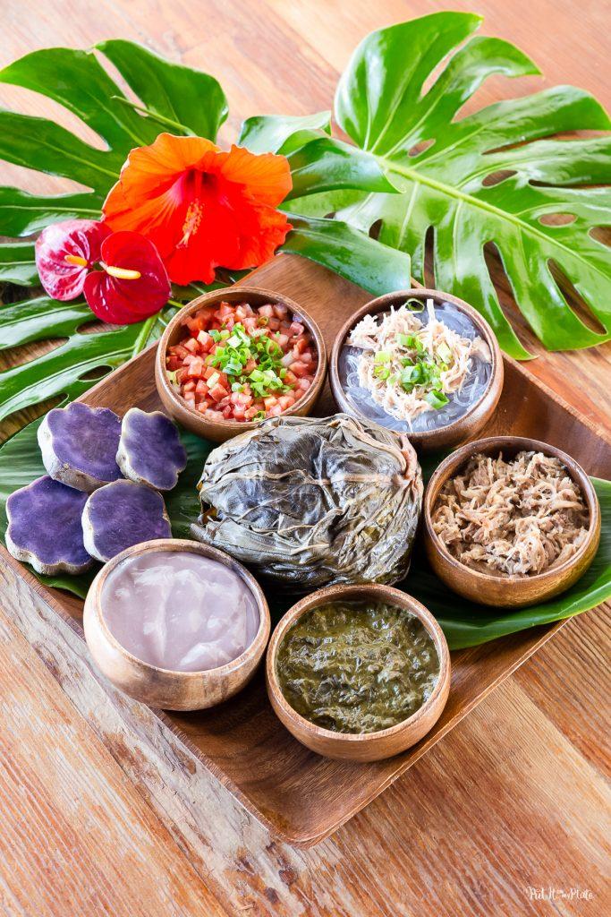 Hawaiian Food Sampler